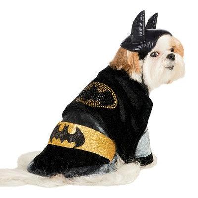 Batgirl DC Comics Batman with Rhinestones Pet Costume - XS