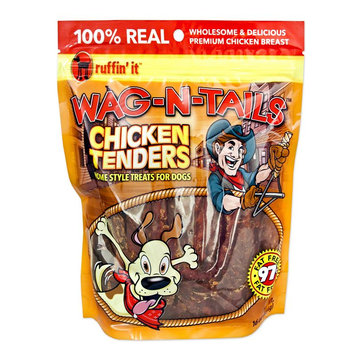 Ruffin It Ruffin' It Wag-N-Tails 16-oz. Chicken Tenders Dog Treats