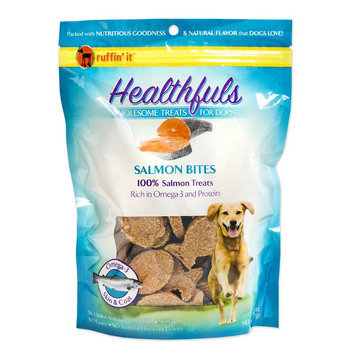 Ruffin It Ruffin' It Healthfuls 14-oz. Salmon Bites Dog Treats