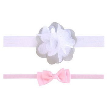 Just One You Made By Carter's Just One YouMade by Carter's Newborn Girls' 2 Pack Bow/Flower Hair