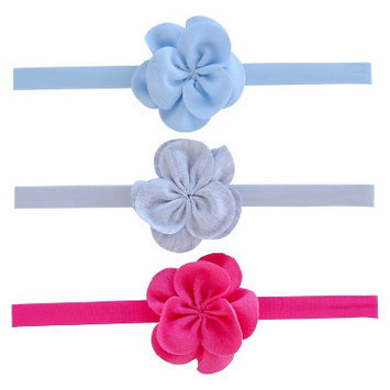 Just One You Made By Carter's Just One YouMade by Carter's Newborn Girls' 3 Pack Flower Headband Set