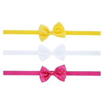 Just One You Made By Carter's Just One YouMade by Carter's Newborn Girls' 3 Pack Bow Headband Set