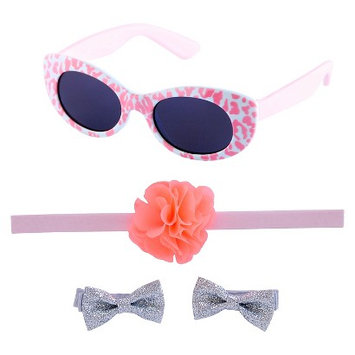 Just One You Made By Carter's Just One YouMade by Carter's Newborn Girls' Sunglasses, Hairband and