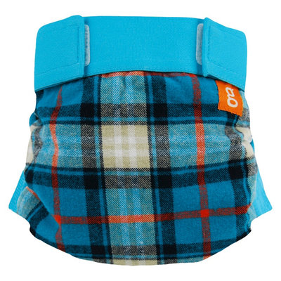 gDiapers gPants, Glacier Mountain Flannel - Large