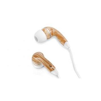Zenex EP5437 Graphic Collection Wood Headphones- Black