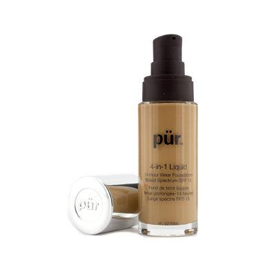 Pur Minerals 4-in-1 Liquid 14 Hour Wear Foundation SPF 15, Medium Dark, 1 oz