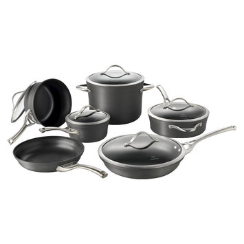 Calphalon Contemporary Nonstick Dishwasher Safe 11 - Piece Cookware Set