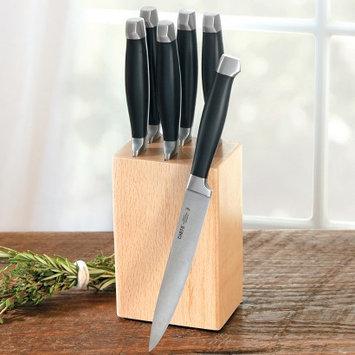 CHEFS Steak Knife Block Set, 7 piece - 7 piece set