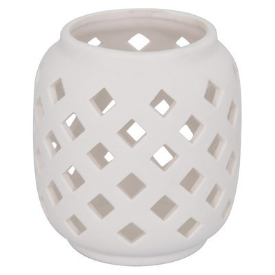 Threshold Porcelain medium lantern 5-1/2