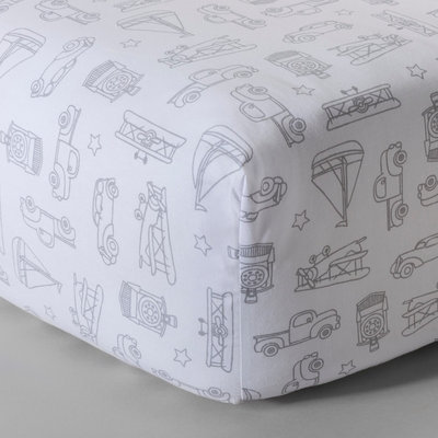 Woven Fitted Crib Sheet - Vintage on the Go by Circo