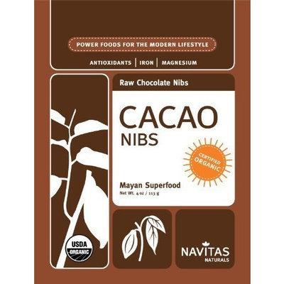 Navitas Naturals Organic Raw Cacao Nibs, 4 Ounce