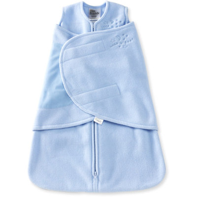 Halo Newborn Microfleece SleepSack Swaddle - Light Blue
