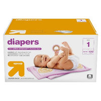 up & up Diapers Super Pack - Size 1 - 120 ct