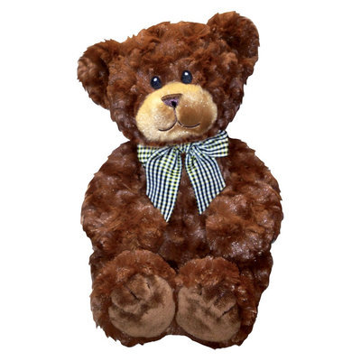 First & Main Budder Bears Plush Toy - Dark Brown (10