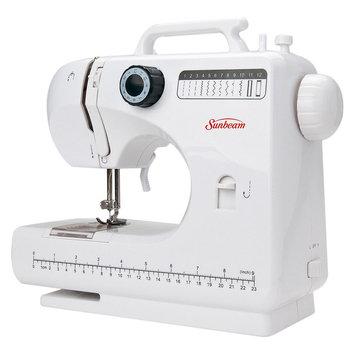 Sunbeam Compact Sewing Machine with Bonus Kit White