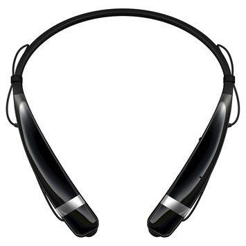 LG Tone Pro Bluetooth Stereo Headset - Black 60-5776-05-XP