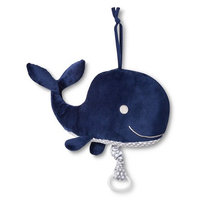 Circo Plush Toy with Music Whale