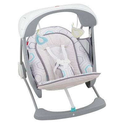 Fisher Price Fisher-Price Deluxe Take-Along Swing & Seat - Saturn Snuggle