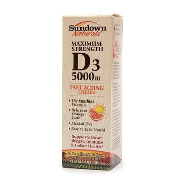 Sundown Naturals Vitamin D3 5000 IU