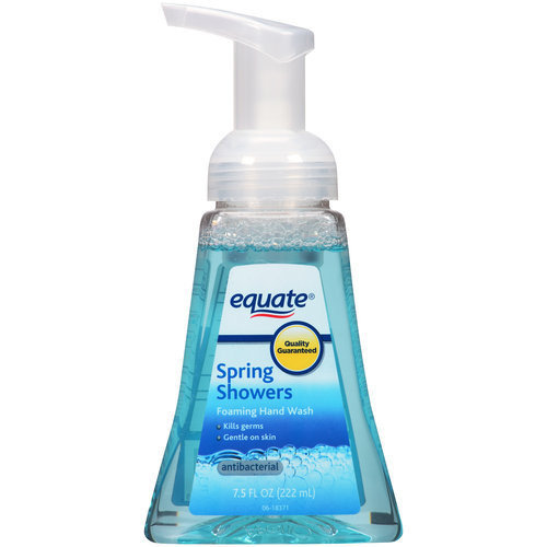 Equate Spring Showers Antibacterial Foaming Hand Wash, 8 fl oz