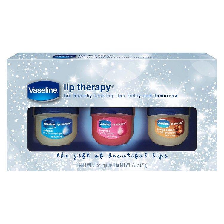 Vaseline Lip Therapy Gift Set - 3 pc