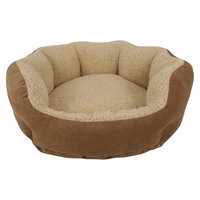 Dog Lounge Cozy Pet Bed
