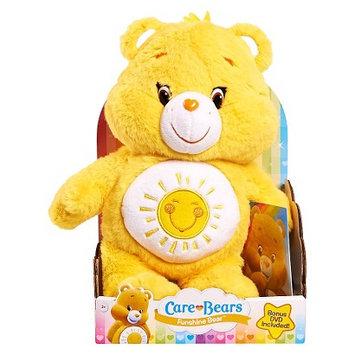 Care Bears Care Bear Medium Plush with DVD - Funshine