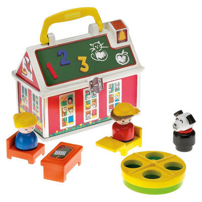 Fisher Price Fisher-Price Little People 50th Anniversary Play 'n Go School