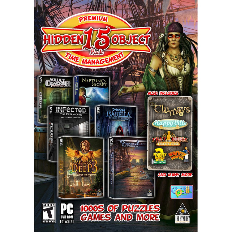 Tri Synergy Premium 15 Hidden Object Pack (PC Games)