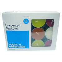 Room Essentials Unscented Candle Set Multi