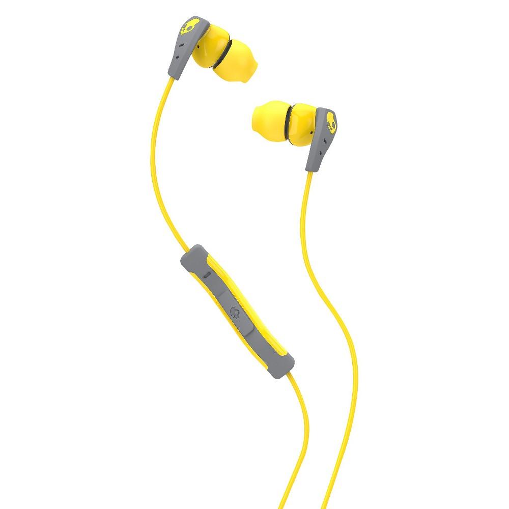 Skullcandy Method Earbuds Yellow/Gray/Yellow, One Size