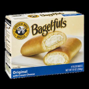 Einstein Bros. Bagels Bagel-fuls Original with Cream Cheese - 4 CT