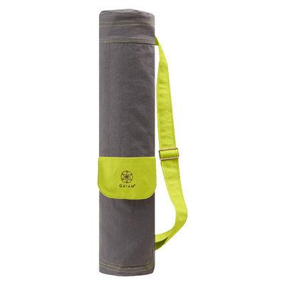 Gaiam Yoga Mat Bag- Citron Storm - Grey
