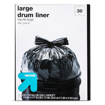 Up & Up 30ct 55 Gallon Drum Liner
