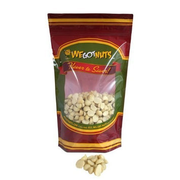 Bayside Candy Macadamia Nuts Raw Unsalted Halves and Pieces, 5Lb - We Got Nuts