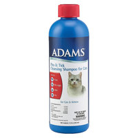 Farnam 100508693 Adams Flea and Tick Cleansing Shampoo With Precor