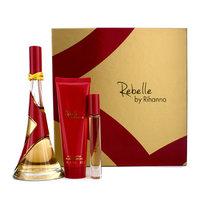 Rihanna Rebelle Coffret: Eau De Parfum Spray 100ml/3.4oz + Body Butter 85g/3oz + Rollerball 6ml/0.2oz 3pcs