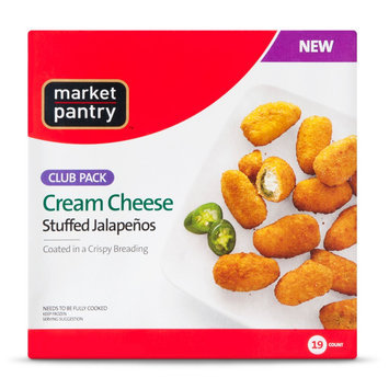 Market Pantry Cream Cheese Stuffed Jalapeno Poppers