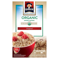 Quaker® Organic Instant Oatmeal Regular