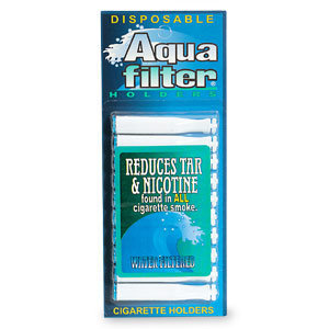 Aqua Filter Disposable Water Filtered Holders