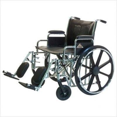 Graham Field Paramount Wheelchair, 24x18, Desk Arm, Swingaway Footrest, 1/Ea, GHF5P010520