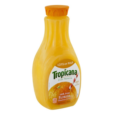 Tropicana® Pure Premium Lots Of Pulp Orange Juice