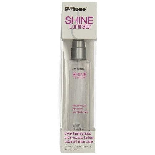 Pure Shine Shine Luminator 4oz Glossy Finishing Spray