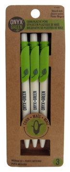 Frontier Natural Foods Frontier Natural Products 227814 Retractable Pens Corn Plastic- Black Ink