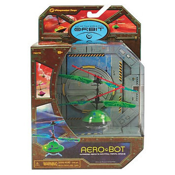 Orbits Aero Bot Infrared Rc Flying Saucer - Green