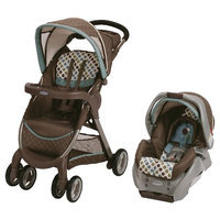 Graco FastAction Fold Click Connect Baby Travel System - Dakota