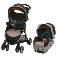 Graco FastAction Fold Click Connect Baby Travel System - Scribbles