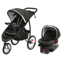 Graco FastAction Jogger XT Click Connect Jogging Stroller Travel