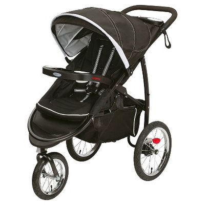 Graco FastAction Fold Jogger Click Connect Stroller - Coconut