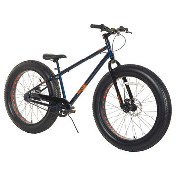 Magna Men's Triax Fracture Fat Tire Bike - Blue (26